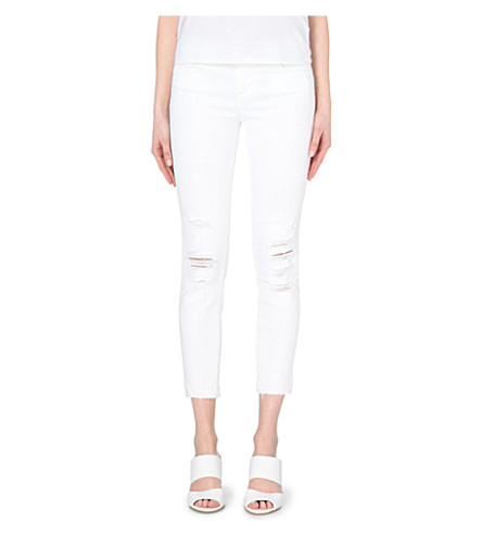 J BRAND 9326 cropped skinny low-rise jeans (Demented