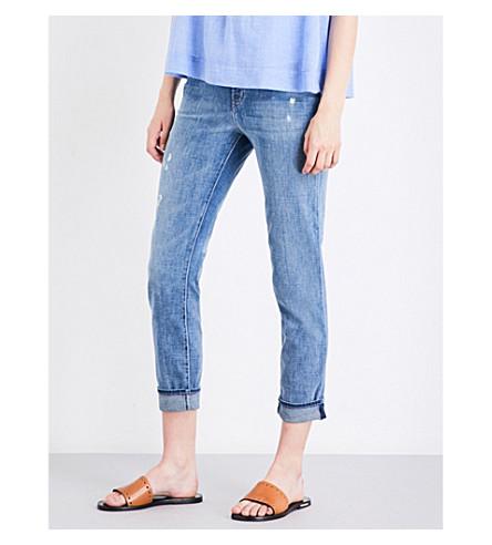 J BRAND Johnny boyfriend mid-rise jeans (Sentimental