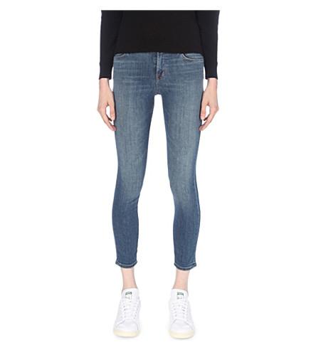 J BRAND 835 Capri skinny mid-rise jeans (Scout