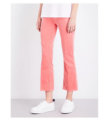 J BRAND Selena frayed bootcut jeans (Glowing