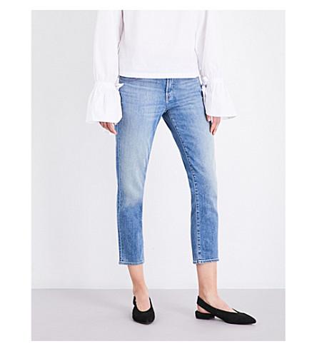 J BRAND Sadey slim straight mid-rise jeans (Adventure