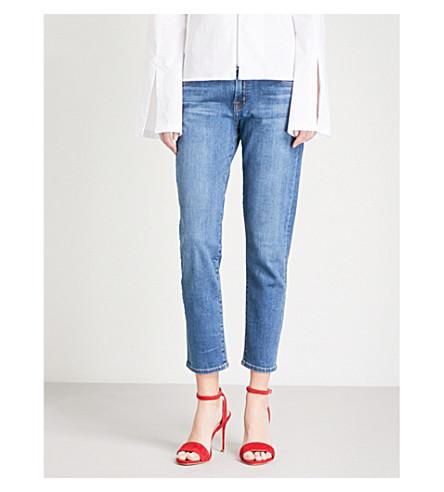 J BRAND Sadey slim-fit straight mid-rise jeans (Lovesick