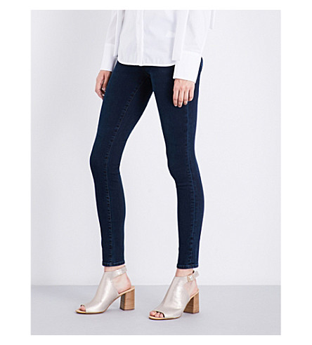 J BRAND 620 super-skinny mid-rise jeans (Throne