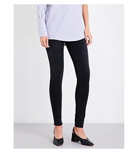 J BRAND 620 super-skinny mid-rise jeans (Dark+sanctify