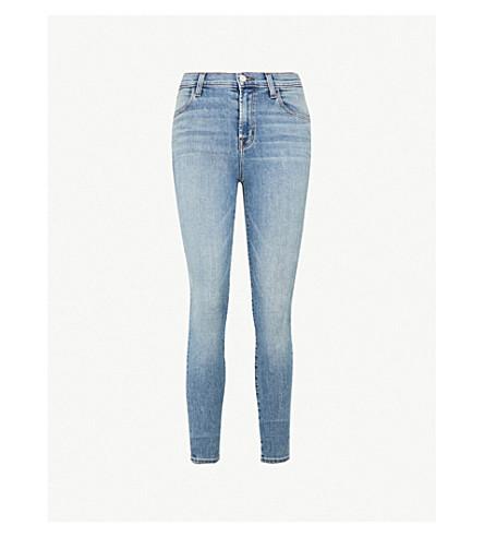 J BRAND Maria high-rise ripped skinny jeans (Everlasting
