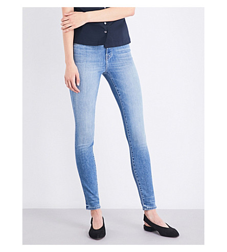 J BRAND Maria skinny high-rise jeans (Adventure