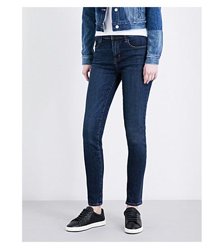 J BRAND Maria skinny high-rise jeans (Mesmeric
