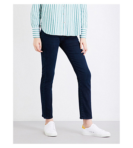 J BRAND Amelia ankle grazer mid-rise jeans (Throne