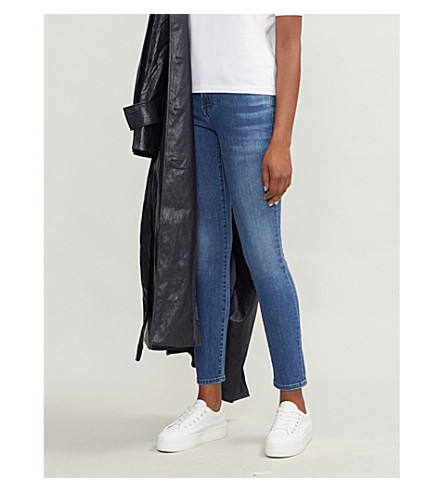J BRAND 811 skinny mid-rise jeans (Fuse