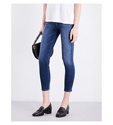 J BRAND Alana skinny high-rise jeans (Decoy