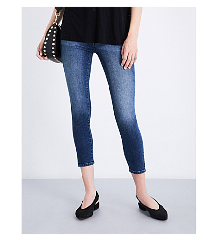 J BRAND Alana skinny high-rise jeans (Cover