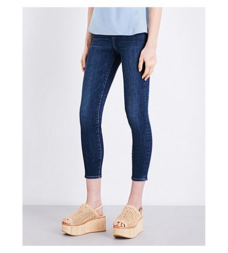 J BRAND Alana skinny high-rise jeans (Mesmeric