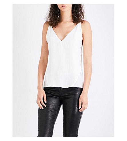 J BRAND Lucy silk camisole (White