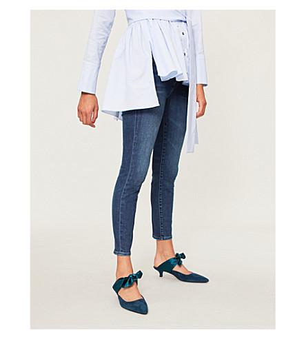 J BRAND 835 Capri mid-rise skinny jeans (Swift