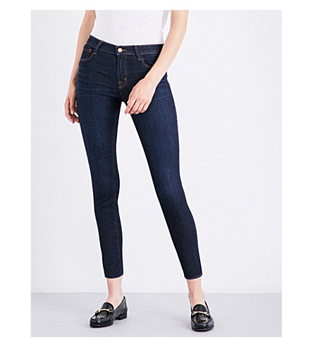 J BRAND 835 Capri skinny mid-rise jeans (Blameless