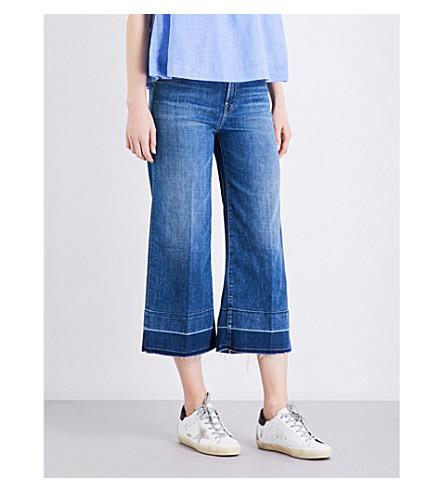 J BRAND Liza wide-leg mid-rise jeans (Heartbroken