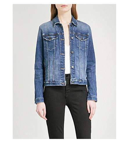 J BRAND Slim denim jacket (Revoke+destruct