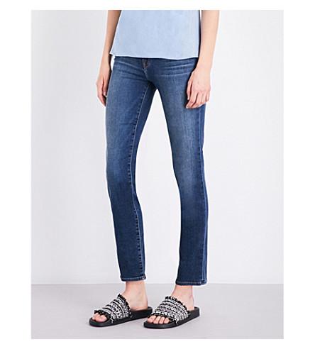 J BRAND Maude cigarette mid-rise jeans (Idolize