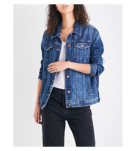 J BRAND FASHION Cyra oversized denim jacket (Kingsland