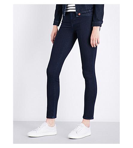 J BRAND 811 skinny mid-rise jeans (Dark+fix