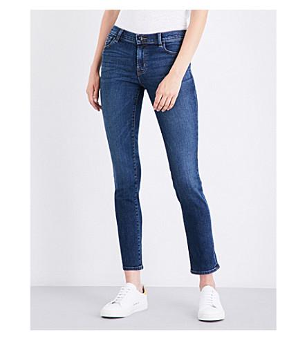 J BRAND Maude cigarette mid-rise jeans (Mesmeric