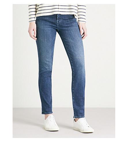 J BRAND Maude cigarette mid-rise jeans (Swift