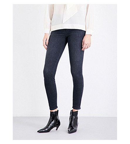 J BRAND Maria high-rise skinny jeans (Fascination