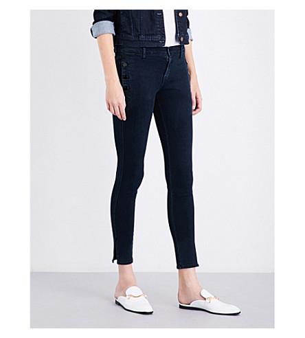 J BRAND Zion mid-rise skinny jeans (Indigo+ingenious