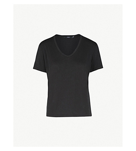 J BRAND FASHION Johnny cotton-jersey T-shirt (Black