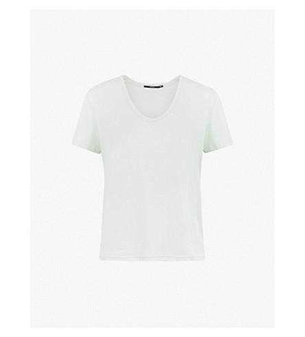 J BRAND FASHION Johnny cotton-jersey T-shirt (Spearmint