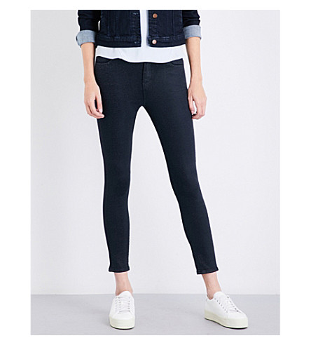 J BRAND Alana skinny high-rise jeans (Delirious+faith