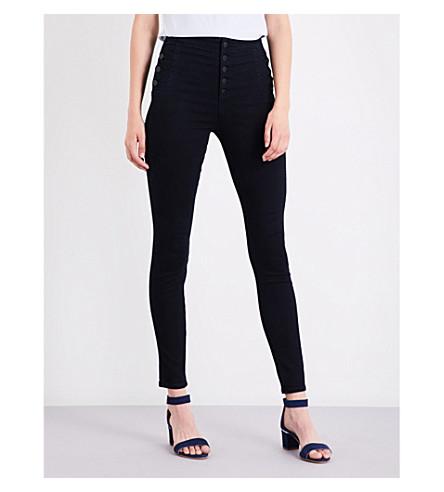 J BRAND Natasha super-skinny high-rise jeans (Bluebird