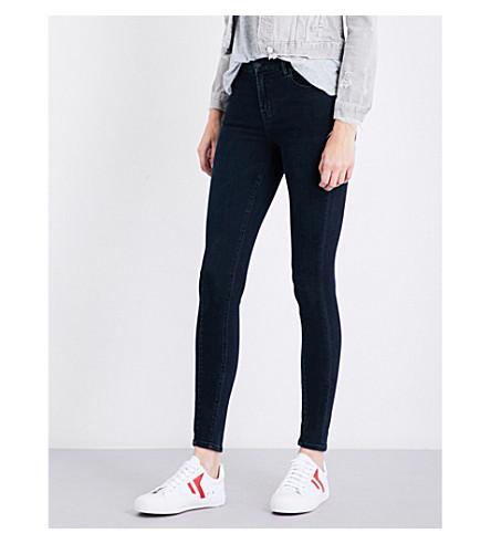 J BRAND Maria skinny high-rise jeans (Indigo+ingenious