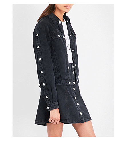 J BRAND X BELLA FREUD Debbie stretch-denim jacket (Overthrow