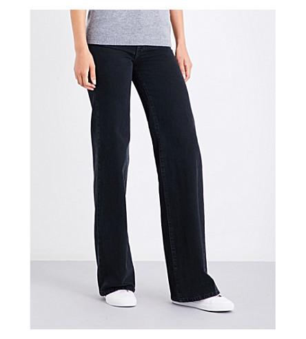 J BRAND X BELLA FREUD Jane flared high-rise stretch-denim jeans (Overthrow