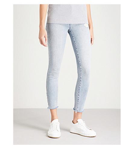 J BRAND Alana distressed skinny mid-rise jeans (Amateur