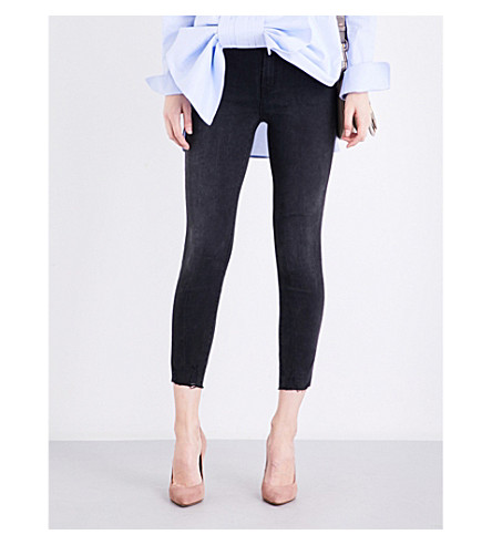 J BRAND Alana skinny cropped high-rise jeans (Forfeit