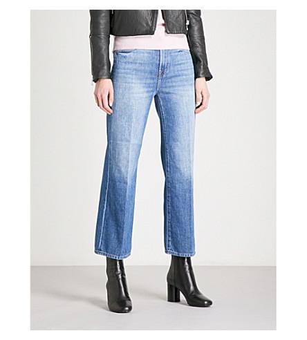J BRAND Joan wide-leg high-rise jeans (Mimic