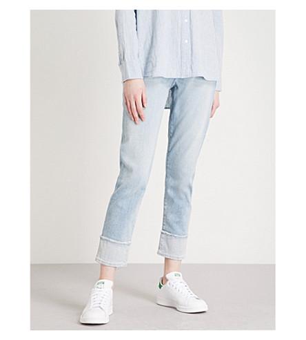 J BRAND Sadie slim-fit straight mid-rise jeans (Arise