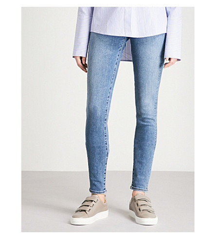 J BRAND Carolina skinny super high-rise jeans (Delphi