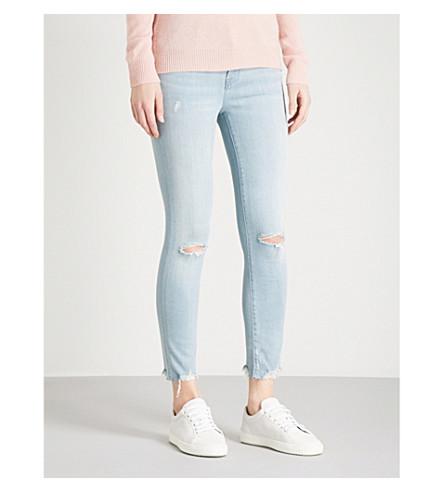 J BRAND 835 skinny mid-rise Capri jeans (Morning+star