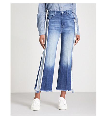 J BRAND Joan wide-leg high-rise jeans (Initial