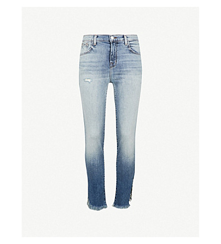 J BRAND Ruby straight cropped high-rise jeans (Jaded