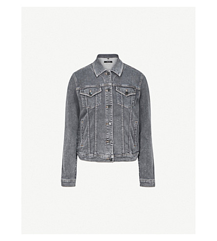 J BRAND Slim denim jacket (Obscura