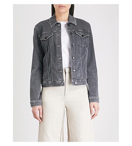 J BRAND Slim denim jacket (Obscura