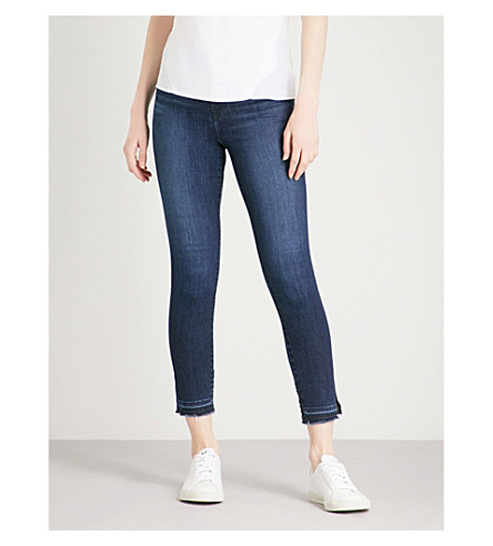 J BRAND Alana cropped skinny high-rise jeans (Good+vibes