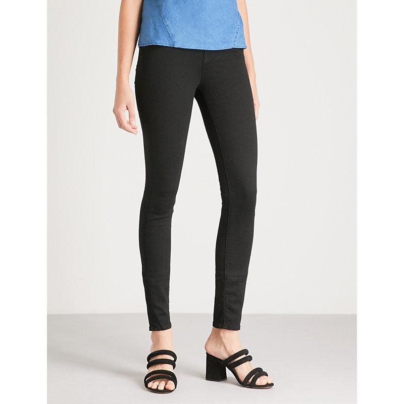 Carolina skinny super high-rise jeans