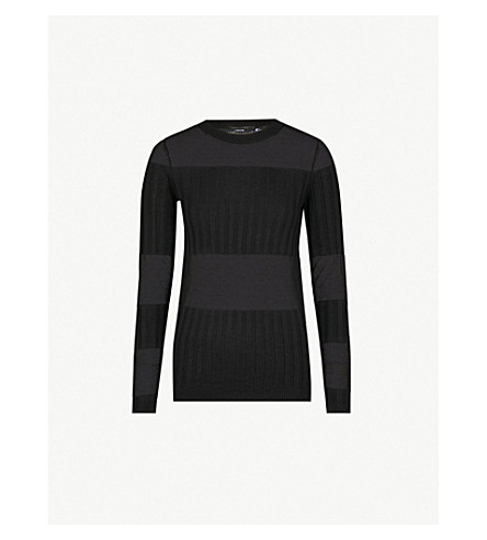 J BRAND FASHION Andrea cashmere and silk-blend jumper (Vulcan