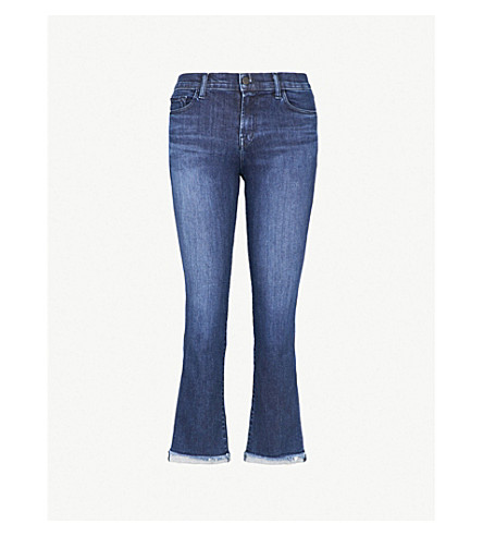 J BRAND Selena bootcut mid-rise jeans (Good+vibes