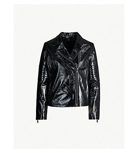 J BRAND FASHION Aimee patent leather jacket (Patent black